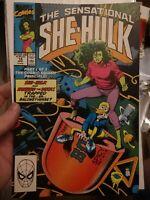 Sensational She-Hulk #14 (1990) (Brian Bolland cover replacement)RAREST COVER!