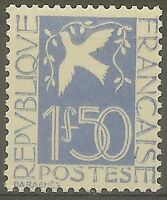 "FRANCE STAMP TIMBRE N° 294 "" COLOMBE DE LA PAIX, DARAGNES 1F50 "" NEUF xx TB B439"