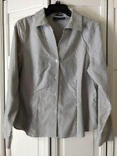 Jones New York Signature Ladies Pin Stripe  Shirt sz. M