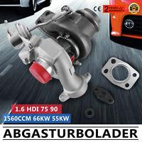 TD025 Turbo Turbocharger for Peugeot 207 307 308 Expert Partner 1.6 Hdi 90BHP