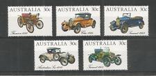 AUSTRALIA 1984 VETERAN AND VINTAGE CARS SG,905-909 U/MM NH LOT 5303A