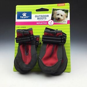 New Top Paw outdoor boots medium dog boots reflective four Boots