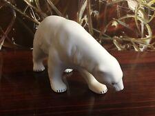 Manufacture de Porcelaine Reichenbach, L'Ours Polaire, Blanc Biscuit,