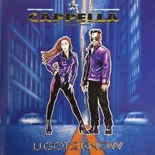Cappella CD U Got 2 Know - France (EX/M)
