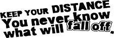 RACING STICKER Funny Car Window Bumper JDM Vinyl Sponsor Decal Graphic