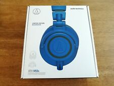 NEW Audio-Technica ATH-M50xBB Over-Ear Headphones Limited Edition - Blue
