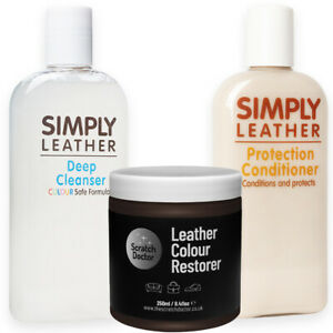 Chocolate Brown Leather Cleaner, Conditioner & Restorer for Sofa Bags Shoes etc