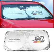 JDM Mugen Sunshade Windshield Foldable Cover Visor UV Heat Isolate For Honda