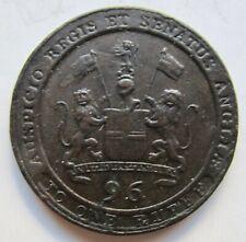 British India Madras Presidency 1797 1/96 Rupee (1/2 Dub) East India Company
