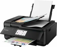 Canon PIXMA TR8520 Wireless All-In-One Printer Black 2233C002 With Ink SLOW SHIP