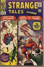 STRANGE TALES #133 MARVEL 06/65 DR STRANGE + THING & TORCH BOB POWELL + DITKO FN