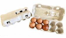 50 Contenitori da 10 uova in Cartone - confezioni per uova