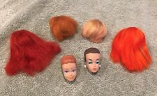 VintageBarbie Color Magic Wigs & 2 Molded Heads  Barbie & Midge