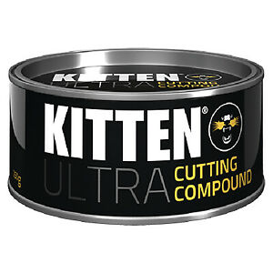KITTEN ULTRA CUTTING COMPOUND 325g Car Wax and Polish with sponge