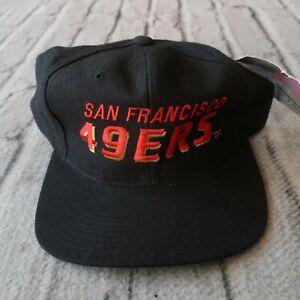 Vintage New San Francisco 49ers Snapback Hat by New Era 90s