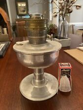 Aladdin aluminum metal kerosene oil lamp model c burner Comes With Wick