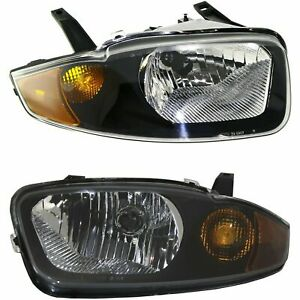 New Head Lamp Assembly Fits 2003-2005 Chevrolet Cavalier Left & Right Side