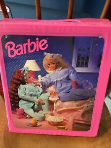 1980s  Barbie Fashion Doll Trunk Carrying Case Mattel
