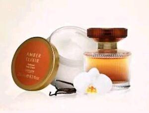 Oriflame Amber Elixir Eau de Parfum and Body Cream