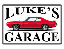 Personalized GARAGE SIGN * YOUR NAME * DURABLE Aluminum HIGH GLOSS COLOR #TJ716