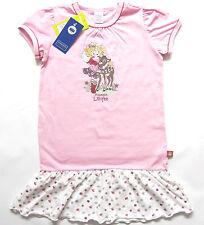Nachthemd kurz Gr.92 Schiesser NEU Lillifee 100% Baumwolle rosa weiß kinder ssv