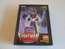 EIGHTMAN (Neo-Geo AES). 100% Authentic Japanese Version. Complete. 8MAN. SNK.