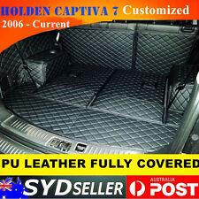 Customized Car Rear Trunk Boot Tray Protector Cargo Mat Holden Captiva 7 seater