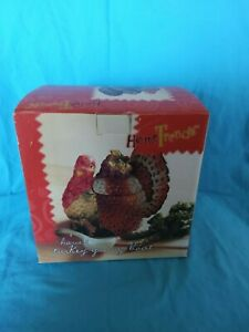 Home Trends, Harvest Turkey Gravy Boat with ladle.  New in package.