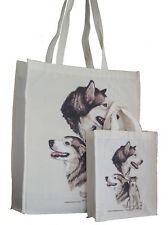 Alaskan Malamute Dog Adult & Child Shopping or Dog Treats Packed Lunch Tote Bag
