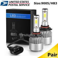 2x HB3 9005 LED Headlight 1000W 580000LM Bulbs 9145 Fog lights Kit 6000K White