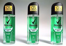 Rexona MEN Deospray Zerstäuber ACTIVE FRESH > 3 x 75 ml  (EUR 7,07 / 100 ml)