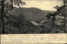 Bad Lauterberg Niedersachsen Harz 1908 gelaufen nach Berlin Wiesenbeeker Teich