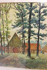 Künstlerische Aquarelle (1900-1949)