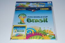 Panini World Cup Brasil 2014 - Deluxe Starter hardcover + 4 packs New & Limited
