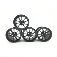Technic Wheels Tires Car Rims 42056 42083 42096 Black Building Blocks Bricks MOC
