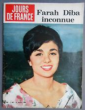 ►JDF 300/1960 - COVER FARAH DIBA - VALERIE LAGRANGE - ELSA MARTINELLI - SEBERG