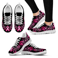Breast Cancer Awareness - Shoes - Women's Sneakers
