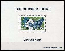 MONACO WORLD CUP 1978  PERFORATE  SOUVENIR SHEET SCOTT#1109  MINT NH