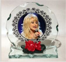 Dolly Parton, Jolene, Golden Oldies , Cut Glass Round Plaque, Limited Edition #1