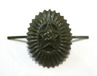 Soviet Russian Army Military Uniform Hat Star Pin Badge Green NEW USSR CCCP