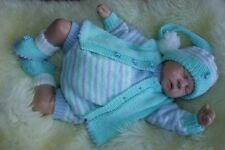 PRINTED PAPER KNITTING PATTERN TO MAKE SWEETNESS AND LIGHT 4 S1ZES  BABY/ DOLLS