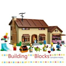 SIMPSONS HOUSE 16005 building blocks set 2575PCS