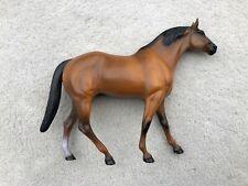 Vintage Hartland Breyer Horse Thoroughbred Buckskin Dun Chestnut Stallion 9�