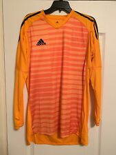New Adidas Adipro 18 Goalkeeper Soccer Jersey Orange Size Med Large Cv6349 $65
