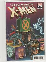 Uncanny X-men #10 Ron Lim Nick Fury Shield homage cover variant 9.6