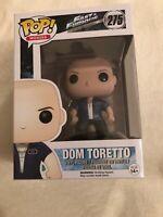 funko pop vinyl figure Fast & Furious #275 Dom Toretto Pop Movies Rare Vaulted