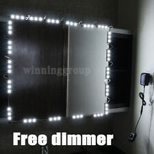 10ft LED Mirror Light Kit Hollywood Makeup Mirror Light Vanity White with Dimmer