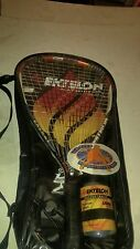 Ektelon Powerfan Energy Racquetball Racquet - Euc+Glasses+Balls