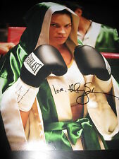 HILARY SWANK SIGNED AUTOGRAPH 11x14 PHOTO MILLION DOLLAR BABY PROMO IN PERSON J