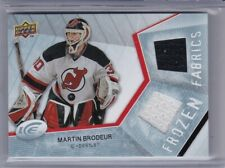 Martin Brodeur 2008-09 UD Ice Frozen Fabrics Jersey card FF-MB